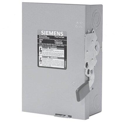 Safety Switch, Non-Fused, NEMA 1, 200 Amp, 3 Pole, 240 Volt