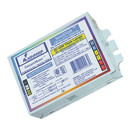 Electronic Ballast, Compact Fluorescent, 2-Lamp, 26W, 120-277V