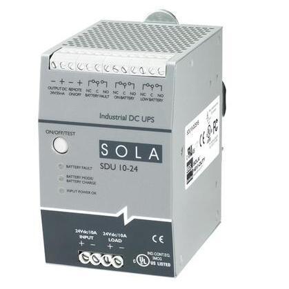 Uninterruptible Power Supply, (UPS), 480VA, 24V/10A