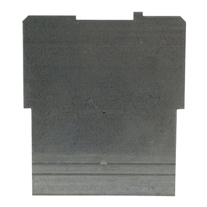 "4"" Square Partition, 4"" x 4"" x 2-1/8"", Steel"