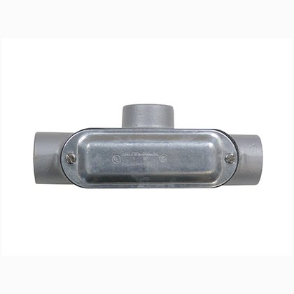 """Conduit Body With Cover/Gasket, Type: T, Size: 1-1/2"""", Spec 5"""