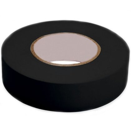 """General Use Vinyl Electrical Tape 1700, 3/4"""" x 36 yd, 1-1/2"""" Core, Black"""