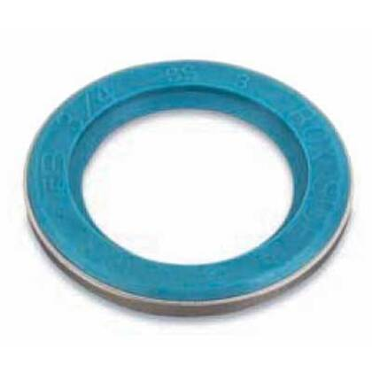 "Liquidtight Sealing Gasket, 3/4"", Stainless Steel Retainer"