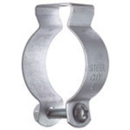 "Conduit Hanger With Bolt, EMT: 1-1/2"", Rigid: 1-1/2"", Stainless Steel"
