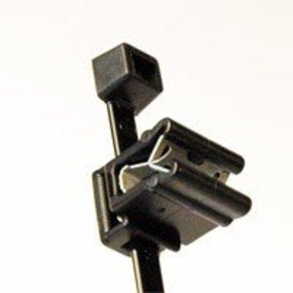 """Cable Tie&EC4A, 8"""", PA66HS, BK, 100/bag"""