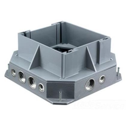 F-box, Lrg-cap, Cast Iron W/ext