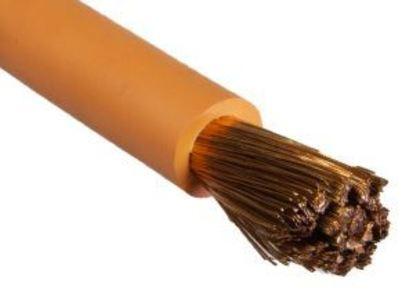 Welding Cable, 4/0 Stranded Copper, Super-Vu-Tron, Orange