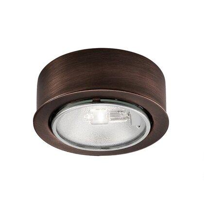 Puck Light, Halogen, 20W, 12V, Brushed Nickel