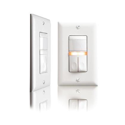 PIR Occupancy Sensor/Switch, RS, Ivory