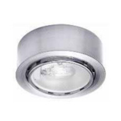 Button Light, Xenon, 20W, 12V, Brushed Nickel