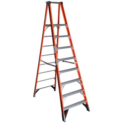 8' Platform Step Ladder, Type IAA, 375 lbs