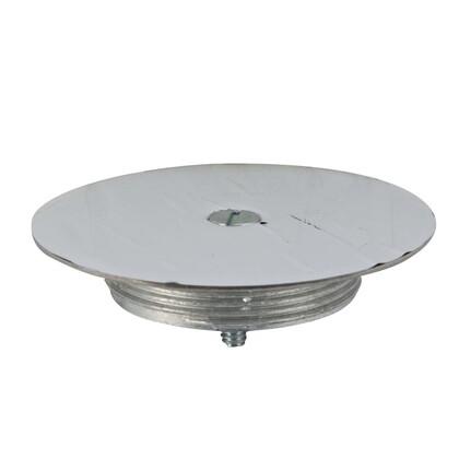 """Blanking Top Plate, Diameter: 3-1/2"""", Stainless Steel"""