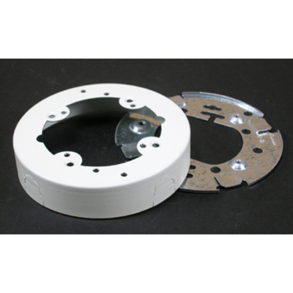 """4-3/4"""" Round Extension Box, Open Base"""