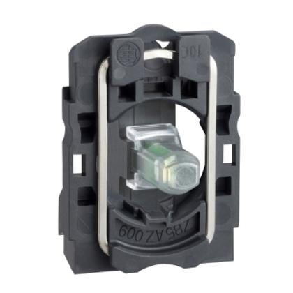 230V WHITE LED W/MTG BASE